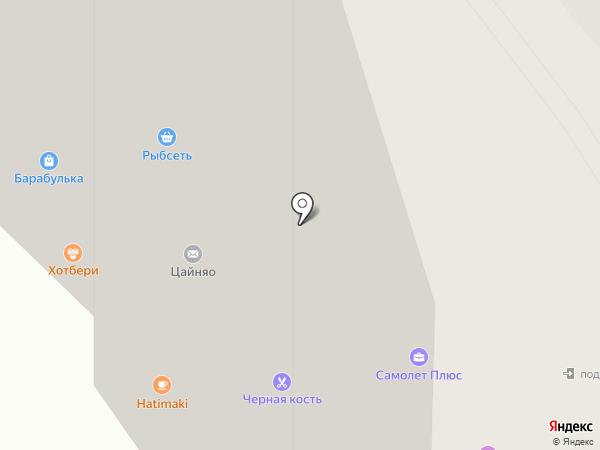 Хатимаки на карте Подольска