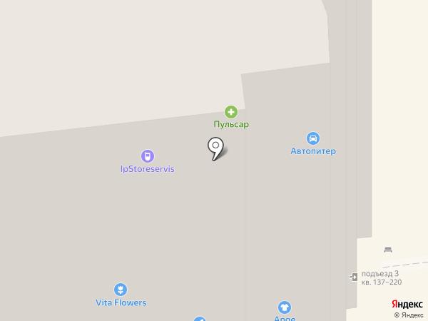 Бутузово на карте Долгопрудного