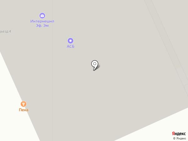 Пена на карте Москвы