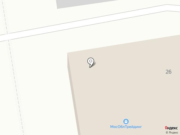 Шиномонтажная мастерская на карте Долгопрудного