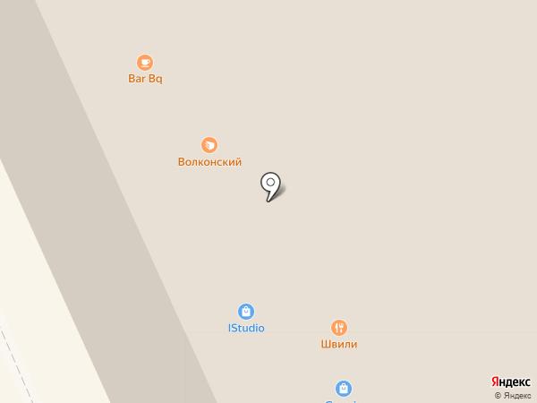 Парад на карте Москвы