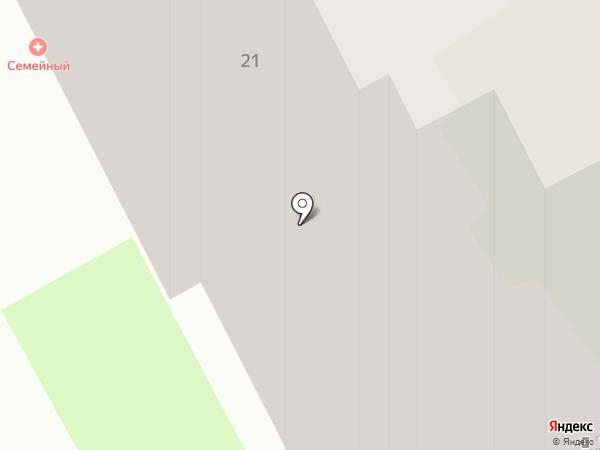 Маяк на карте Подольска