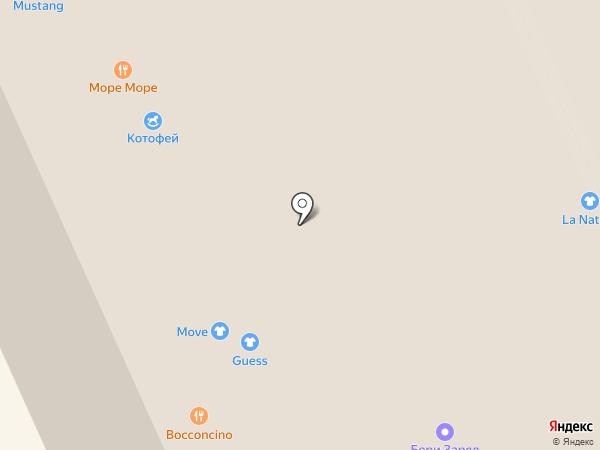 Guess на карте Москвы