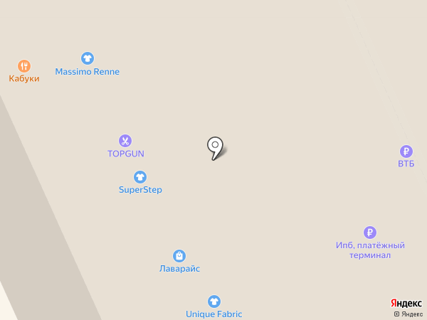 SuperStep на карте Москвы