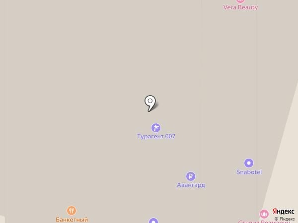 NUVO на карте Москвы