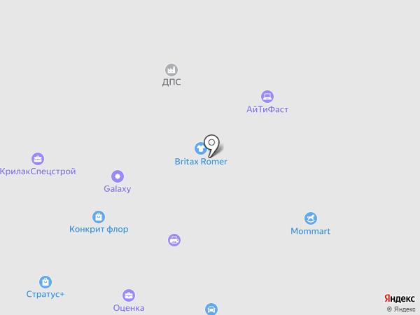 ДПС на карте Долгопрудного