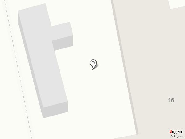 Иристон на карте Щёкино