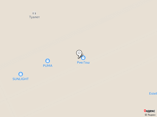 Рив Гош на карте Москвы