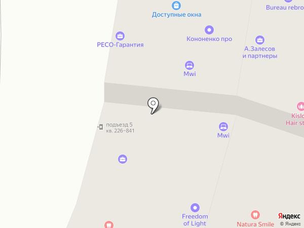 Чемпионика на карте Москвы