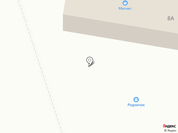 Родничок на карте Первомайского