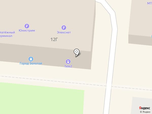 Tele2 на карте Долгопрудного
