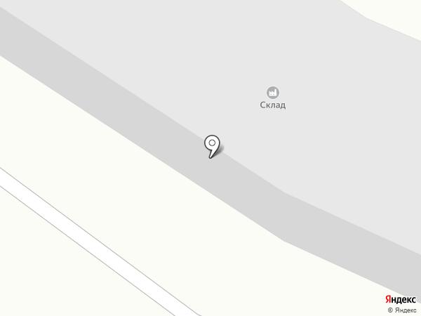 Паук на карте Щёкино
