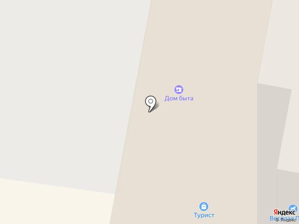Крючок на карте Подольска