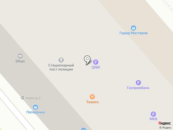Куриный дом на карте Щёкино