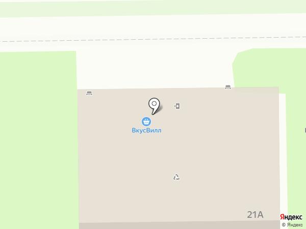 Каравай СВ на карте Долгопрудного
