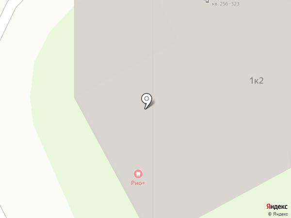 Дентал Клиник плюс на карте Подольска