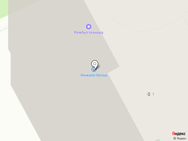 Кристалл-Лефортово на карте Подольска