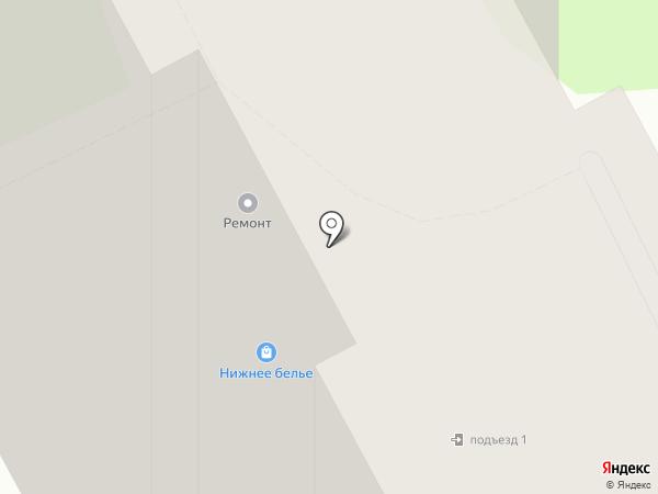 Цифра Один на карте Подольска