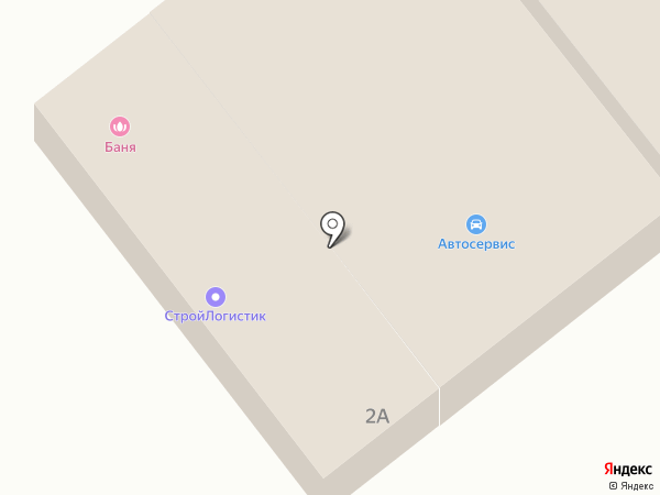Автомойка на карте Щёкино