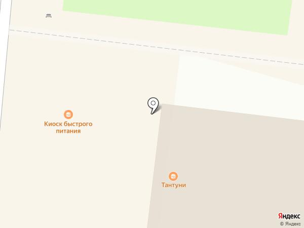 Магазин овощей и фруктов на карте Долгопрудного