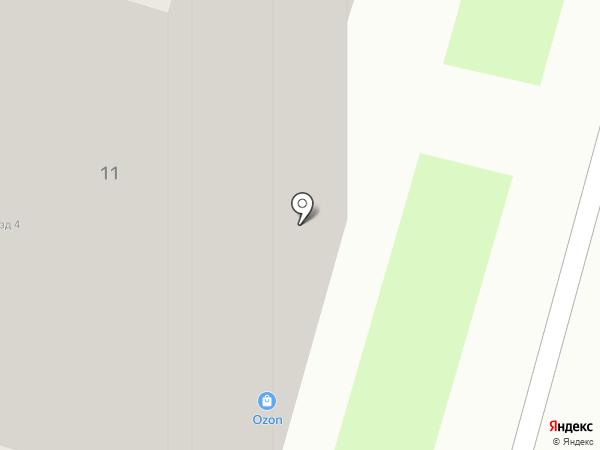 IML на карте Подольска