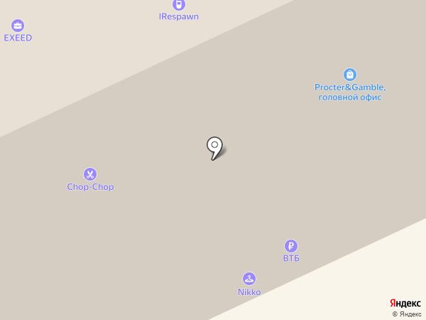 Байон на карте Москвы