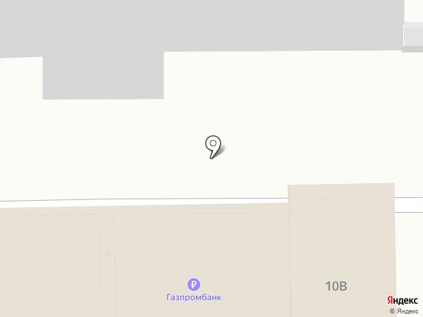 Автокомплекс на карте Долгопрудного