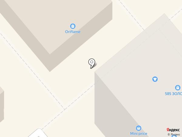 Элика на карте Щёкино