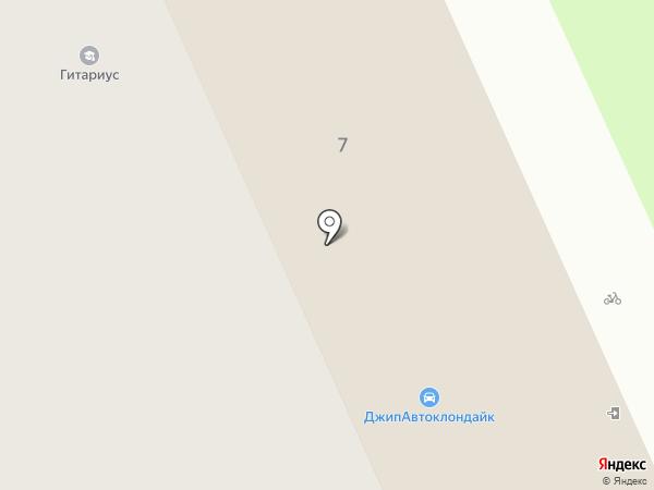 КлубРук на карте Москвы