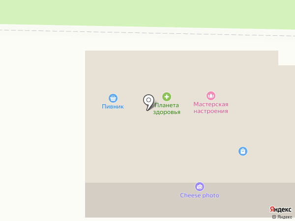 Пивник на карте Долгопрудного