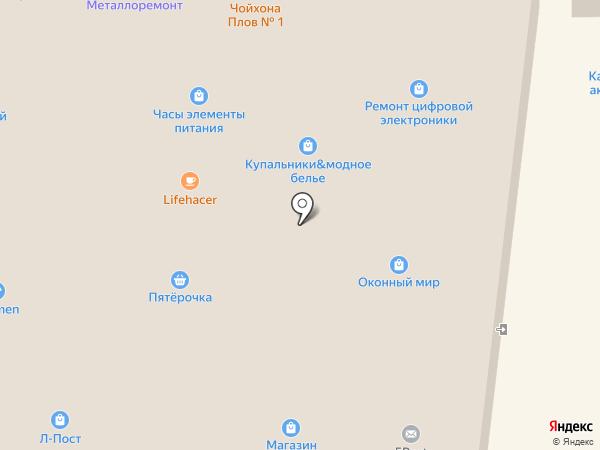 Леда на карте Долгопрудного