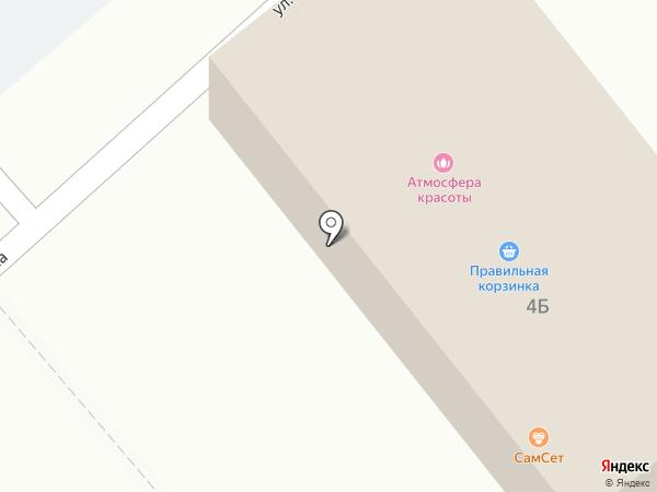 Правильный Цыплёнок на карте Щёкино