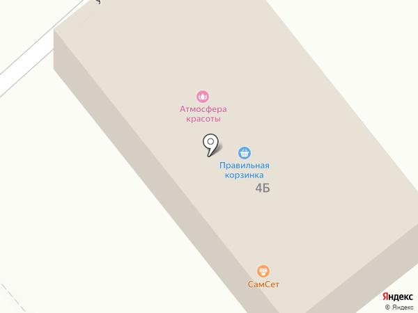 Правильная корзинка на карте Щёкино