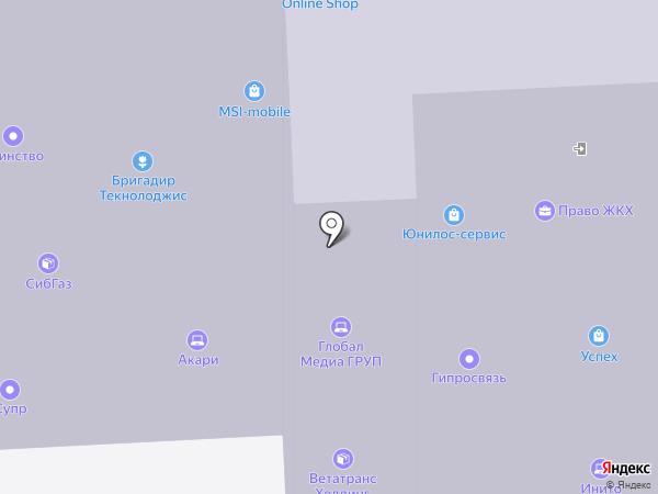 ФинПрофи на карте Москвы