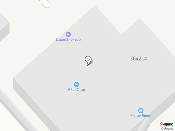 Leoled на карте Москвы