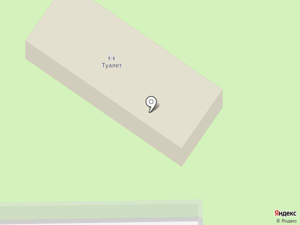 Бесплатный общественный туалет на карте Долгопрудного