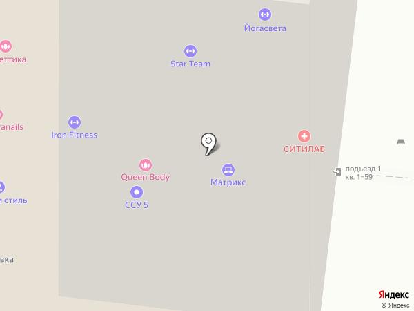 HB-Dance Studio на карте Долгопрудного