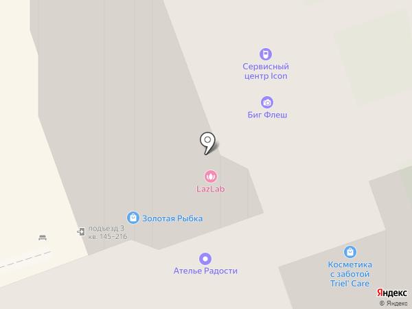 Алишка на карте Долгопрудного