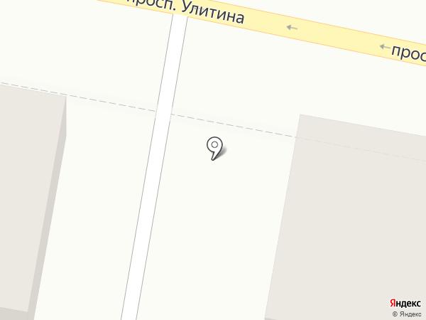 Универсад на карте Первомайского