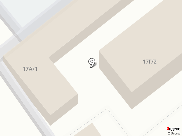 Магазин сумок и кожгалантереи на карте Щёкино