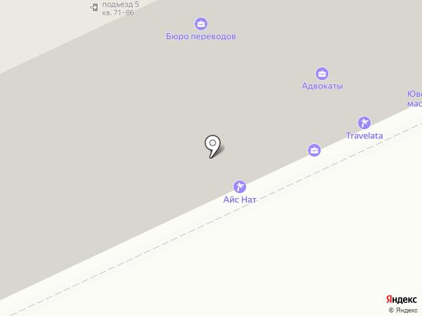 АлМиС на карте Москвы