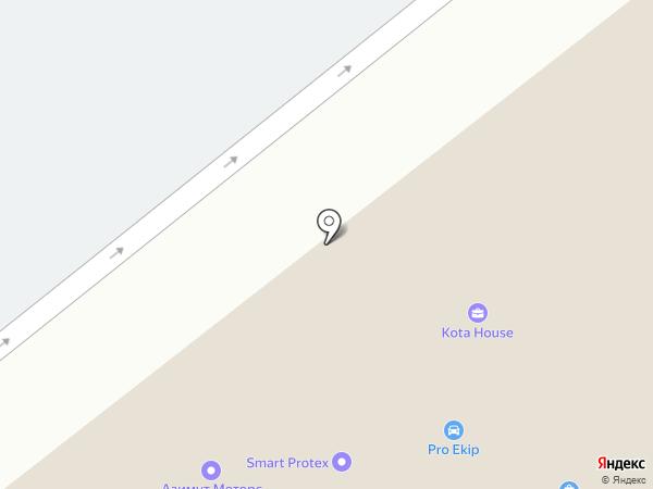 Ekipka на карте Москвы