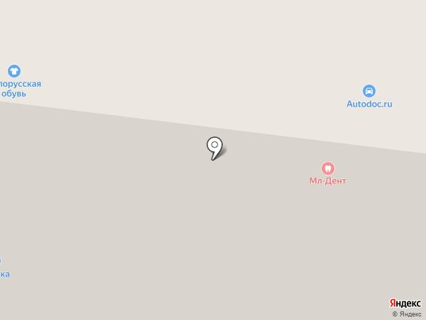 Дикси на карте Долгопрудного
