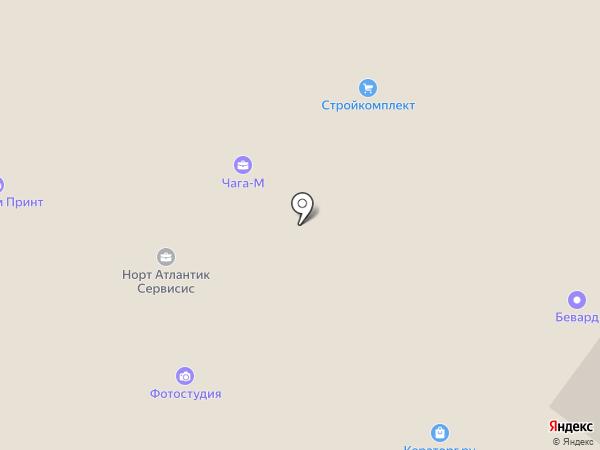 Русско-китайский центр на карте Москвы