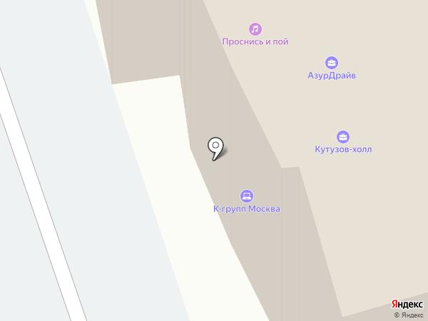 НОРТОН на карте Москвы