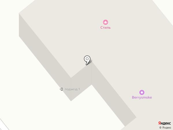 Стиль на карте Щёкино