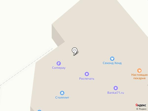 МебельСтиль на карте Щёкино