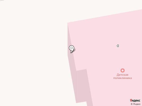 Детская поликлиника на карте Первомайского