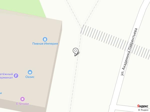 Калужская акватория на карте Долгопрудного
