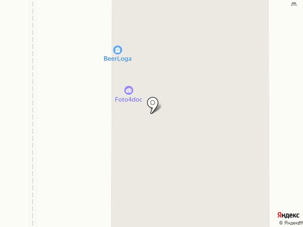 Фотостудия на карте Долгопрудного